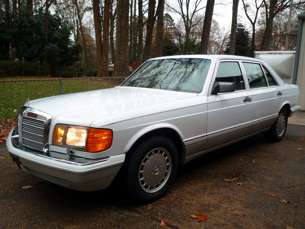 1991 mercedes benz 420sel 73 350 miles from new for 1991 mercedes benz 420sel